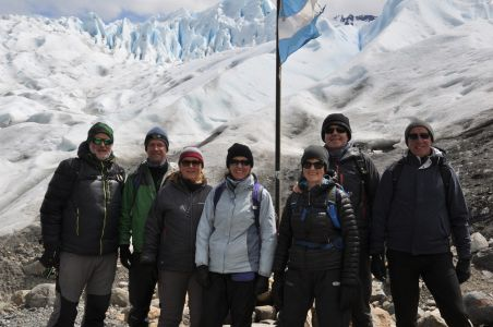 Out on the Moreno Glacier