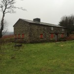 A hut that we used in The Long Plod