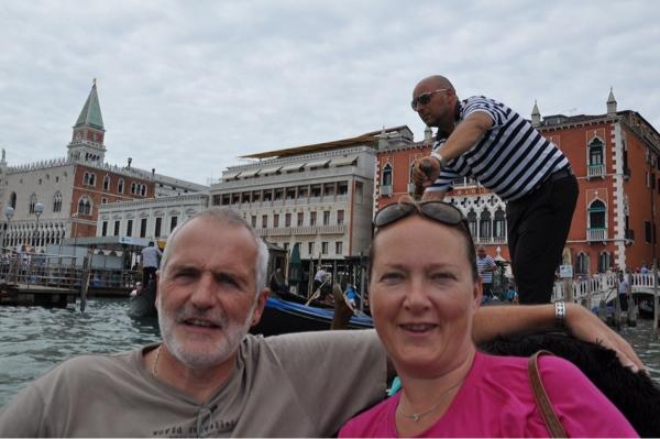 A gondola ride for four