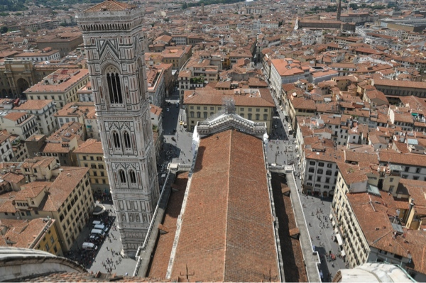 From the Duomo