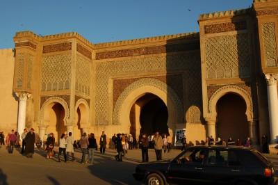 Bab Mansour, Meknes
