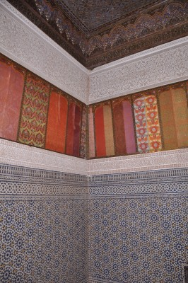Inside the Telouet Kasbah