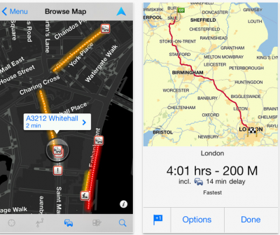 TomTom on the Iphone