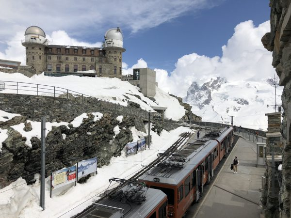View from the Gornergrat station