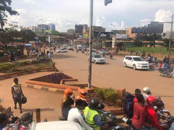 Kampala is chaotic