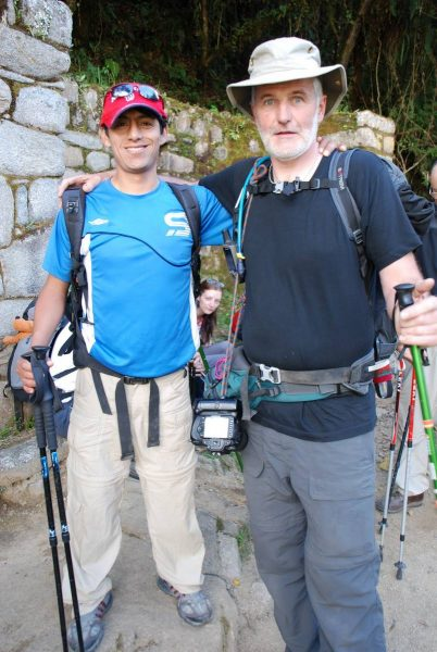 Hector our trail guide. A really great bloke…. With a great sense of humour