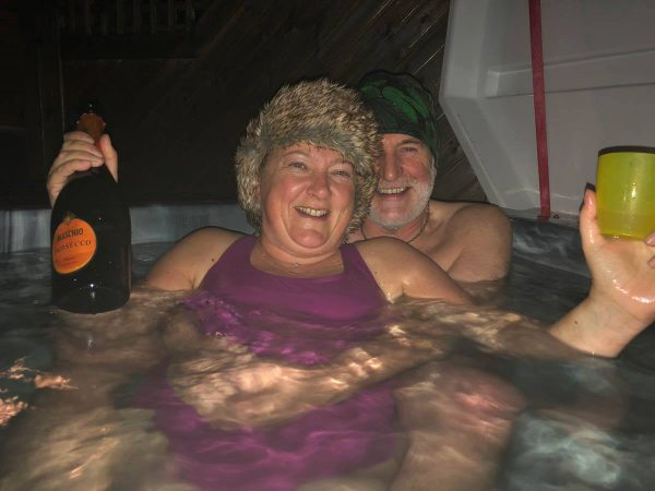 Hot tub night