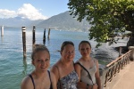 The Three Girls  Lake Maggiore